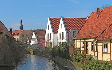 Burgsteinfurt, Altstadtbebauung