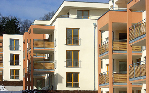 Tübingen, Im Rotbad, MFH
