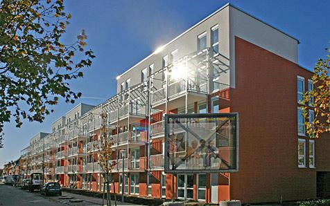 Mannheim-Neuhermsheim, MFH