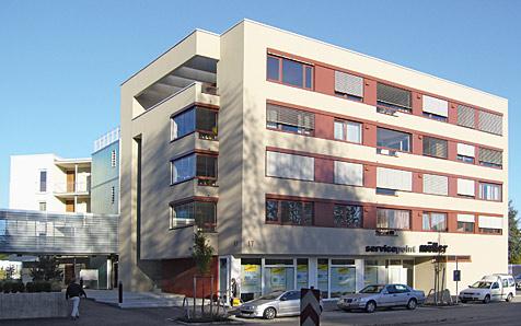Friedrichshafen, Kitzenwiese, Sozialzentrum und Wohnanlage