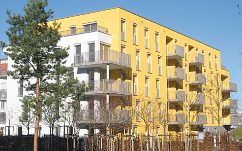 München, Marianne-Brandt-Straße, MFH 35 WE