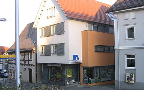 Biberach, Wohn- und Geschäftshaus