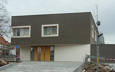Mössingen, Neubau Polizeiposten