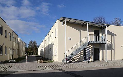 Winnenden, Asylantenwohnheim