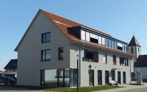 Aichhalden-Röthenberg, Wohnhaus mit Ortsverwaltung